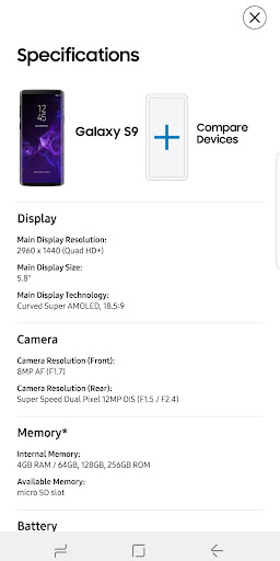 Experience app for Galaxy S9/S9+ - Apps on Google Play