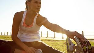 Con el buen tiempo se incrementa la práctica deportiva.