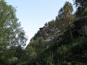 Photo: Khodzhokelen, rocks near sacred grotto