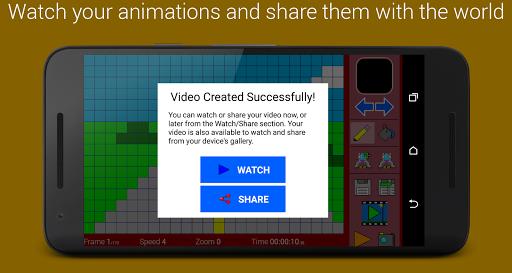 玩免費遊戲APP|下載Pixel Animation Studio MP4 GIF app不用錢|硬是要APP