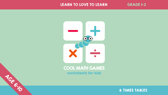 Cool Math Games Worksheets Apps On Google Play