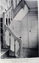 Photo: Staircase from an old house that stood in Portsmouth, NH.