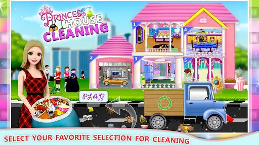 Elsa Home Cleaning Gamesu2013 Garage Dust Clean Up- apktram screenshots 1