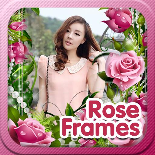 玫瑰花卉帧 攝影 App LOGO-硬是要APP