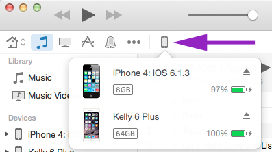 how to backup my phone via iTunes
