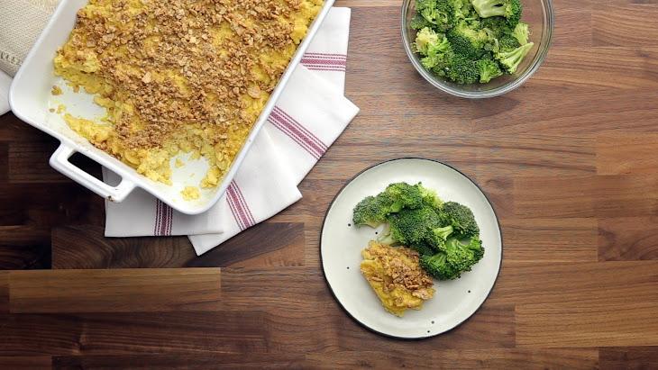 "Vegan Baked Mac and ""Cheese"" Recipe"