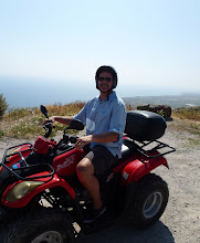 Photo: This is the lifestyle! Four wheeling in Greece!