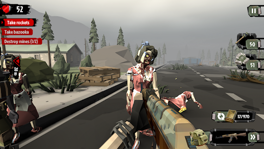 The Walking Zombie 2: Zombie shooter 2