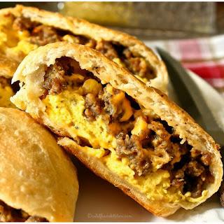"""Cheesy Breakfast Bierocks! (a.k.a """"Runzas"""")."""