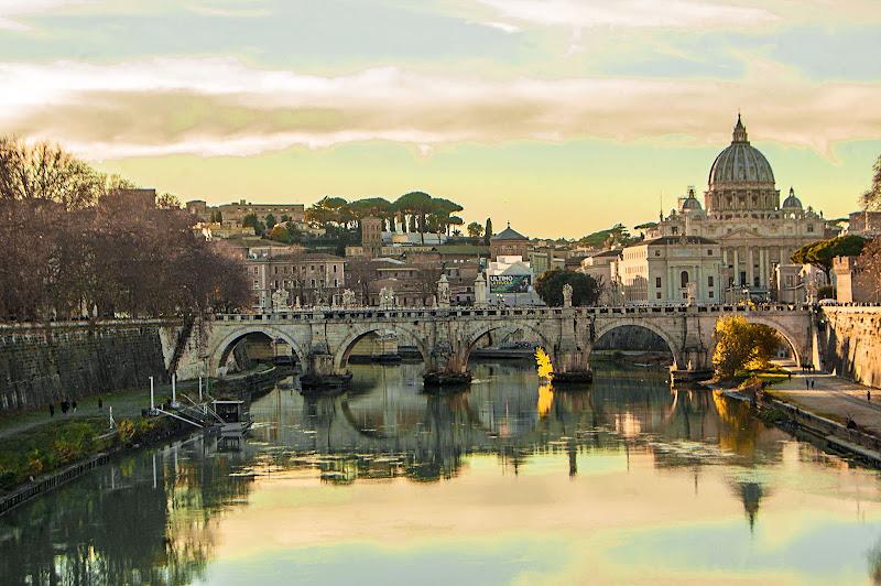 Due in una: Roma e Città del Vaticano di albertocastagnaphoto