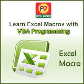 Macros With VBA codes in Excel