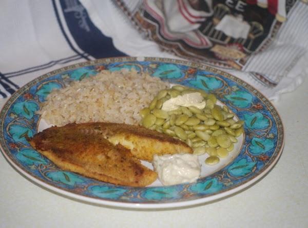 Lemon Pepper Parmesan Breaded Tilapia Recipe