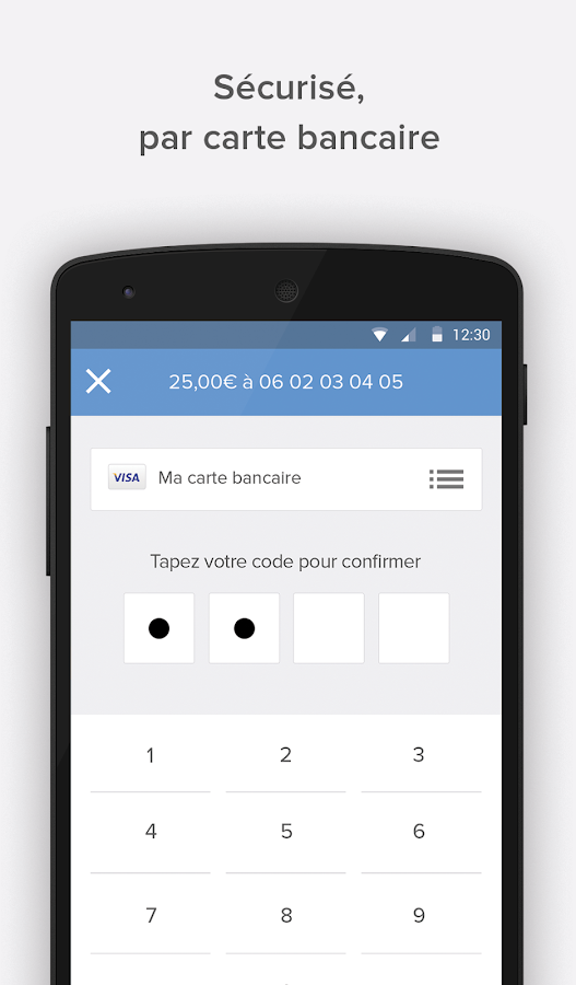 Lydia - Paiement Mobile France - screenshot