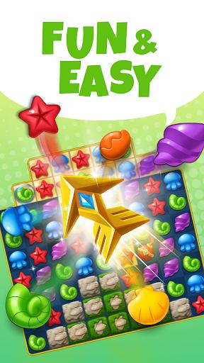Ocean Splash Match 3: Free Puzzle Games 3.2.0 screenshots 3