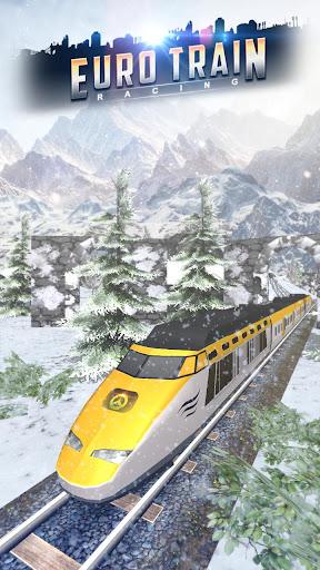 Euro Train Racing 3D screenshot 1