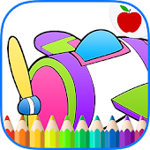 Airplanes Jets Coloring Book