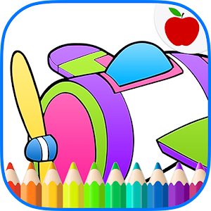 Airplanes Jets Coloring Book for PC and MAC