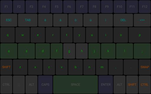 TBoard keyboard screenshot 1