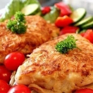 Fish Fillets In Potato Batter.