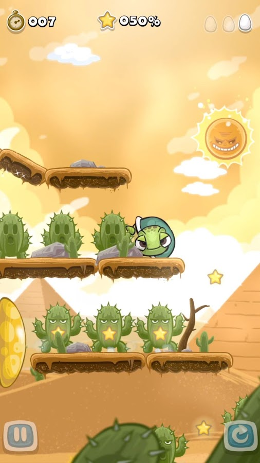 Roll Turtle- screenshot