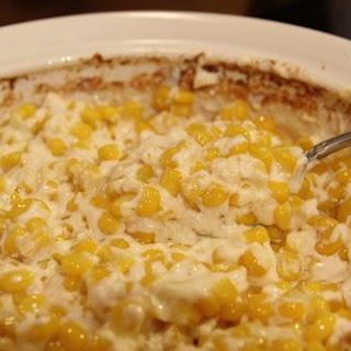 Creamy Cream Cheese Corn.