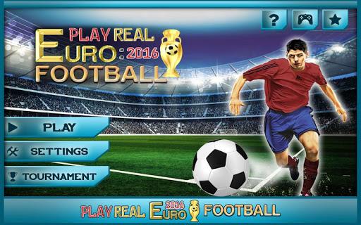 レアルユーロ2016サッカーを再生します