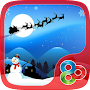 Santa Snowman Launcher Theme APK icon