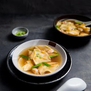 Shrimp Dumpling Soup.