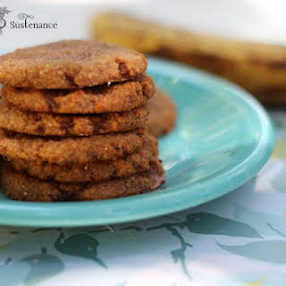 Chewy Banana Spice Cookies.