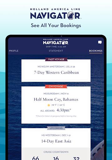 Holland America Line Navigator 1.7.5 screenshots 7