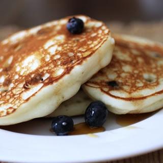 Gluten-Free Blueberry Ricotta Pancakes Recipe
