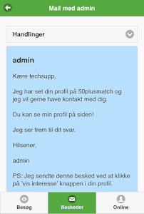 50PlusMatch.dk screenshot 2