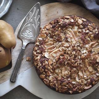 PEAR + FRESH GINGER CAKE Recipe