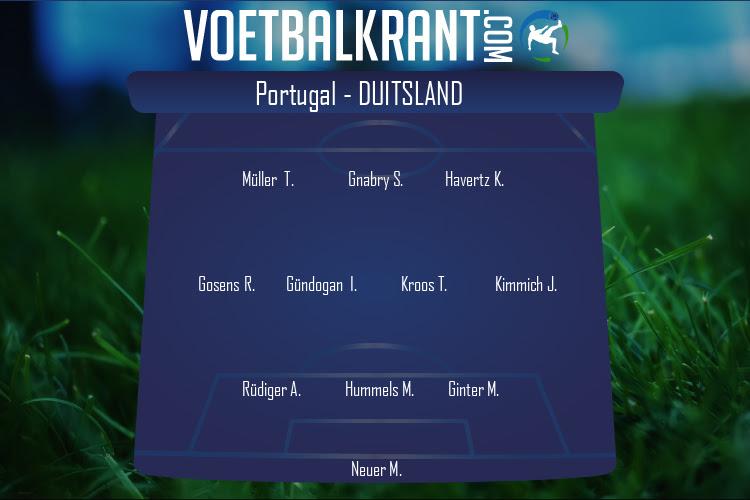 Duitsland (Portugal - Duitsland)