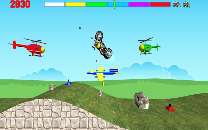 Скриншот Motorcycle Madness