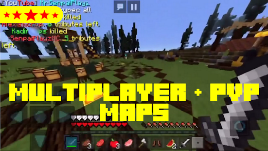 Multiplayer Adventure Maps Multiplayer and PVP maps for MCPE   Apps en Google Play Multiplayer Adventure Maps