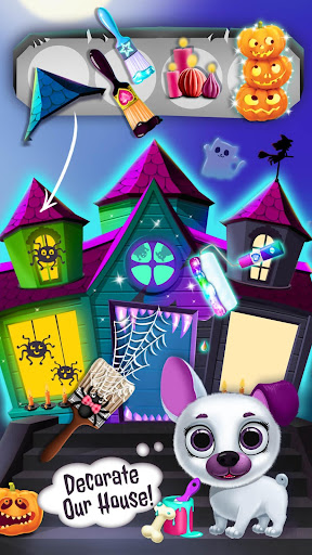 Kiki & Fifi Halloween Salon - Scary Pet Makeover 3.0.25 screenshots 2