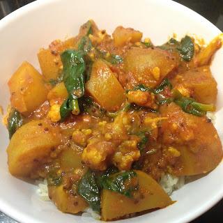 Cauliflower and Potato Curry