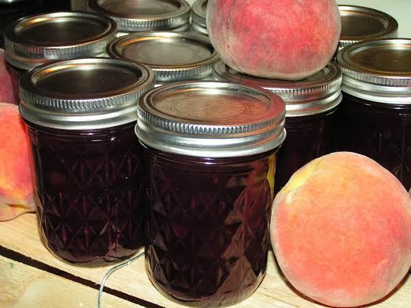 Spicy Blueberry Peach Jam Recipe