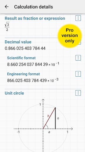 HiPER Scientific Calculator 6.1.1 screenshots 6