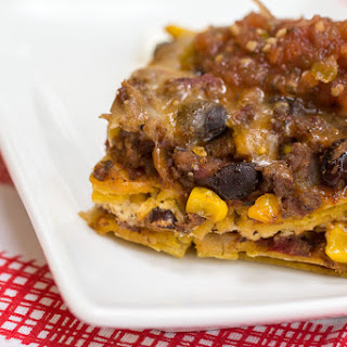 Beefy Mexican Casserole.