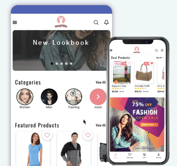 appealing Magento mobile app extension
