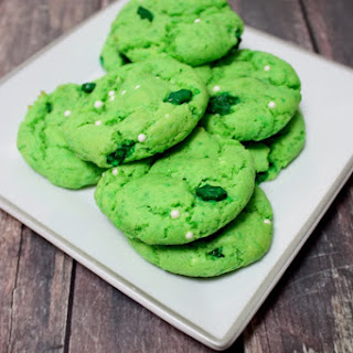 Easy St. Patrick's Day Cookies.