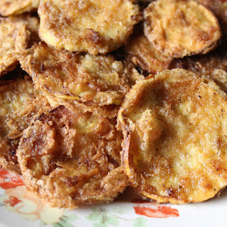 Fried Squash - A Southern Staple.