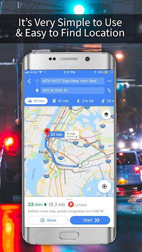 GPS, Maps, Navigations, Directions & Live Traffic 1.39.0 screenshots 7