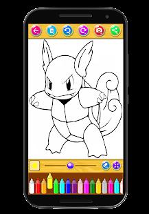 Coloring Book For Cartoons Screenshot Thumbnail