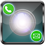Flash on call and sms by Droidlake APK icon