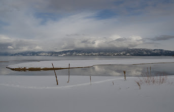 Photo: I'm finally getting around to processing the shots I took over New Years in South Lake Tahoe. This is at Baldwin Beach. We snowshoed about a mile from the road to get to the lake.