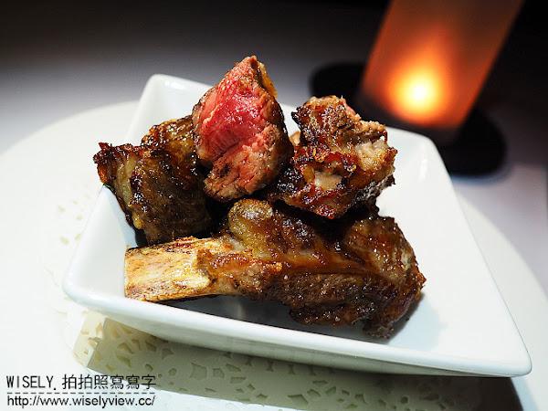 台中亞緻大飯店。Hotel One Taichung:Top of One 46F 頂餐廳(草悟道美食)@乾式熟成牛排~情人浪漫夜聚餐首選