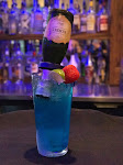 Blue Champagne Margarita